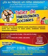 Psicologia : Taller de Habilidades Sociales para niños de ...