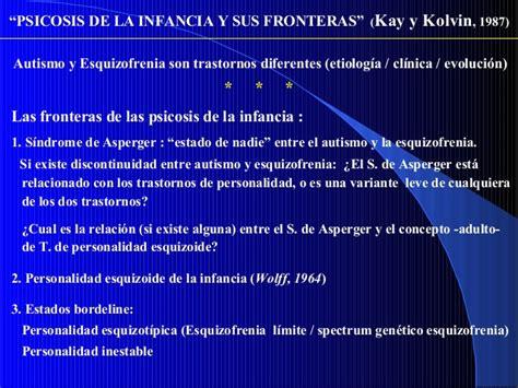 Psicopatología y neurodesarrollo en la presentación de las ...