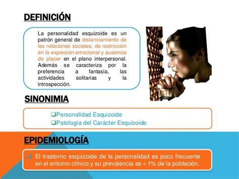 Psiquiatría trastorno esquizoide de la personalidad