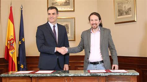 PSOE y Unidas Podemos ultiman la estructura del Gobierno ...