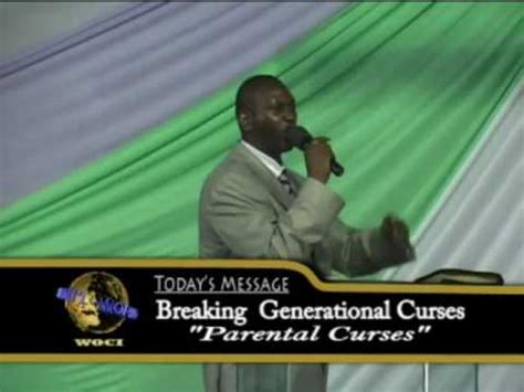 Pst Lee :Breaking Generational Curses   Parental Curses ...