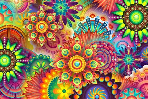 Psychedelic Colorful Colors   Free image on Pixabay