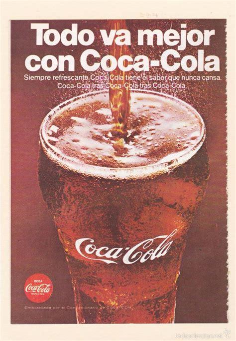 publicidad 1968. anuncio coca cola   aerolinea   Comprar ...
