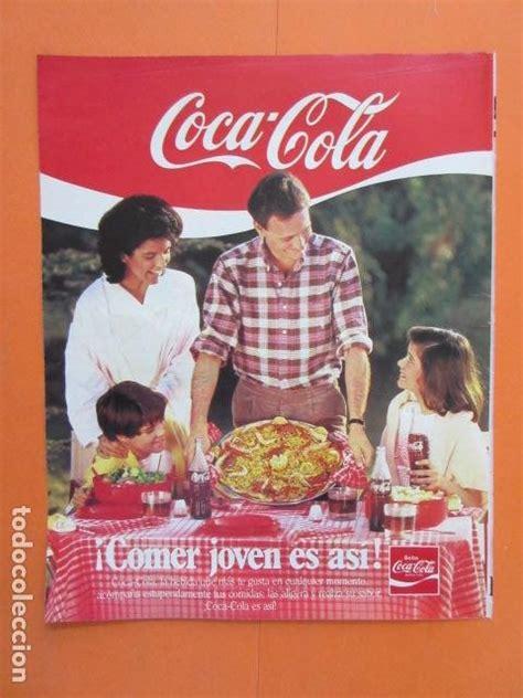 publicidad 1986   coca cola la paella   tamaño   Comprar ...