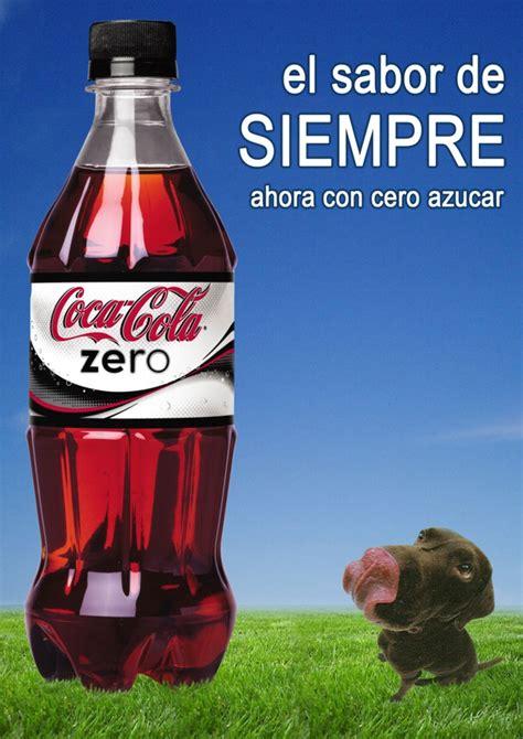 Publicidad Coca Cola Zero   Moises Villalobos