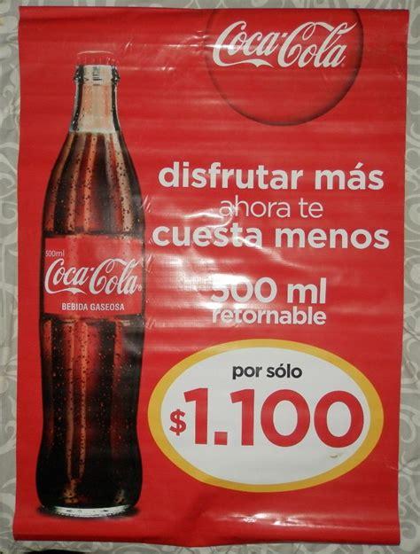 Publicidad De Coca cola   $ 20.000 en Mercado Libre