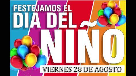 publicidad Día del Niño 28 de agosto 2015  Taller de radio ...