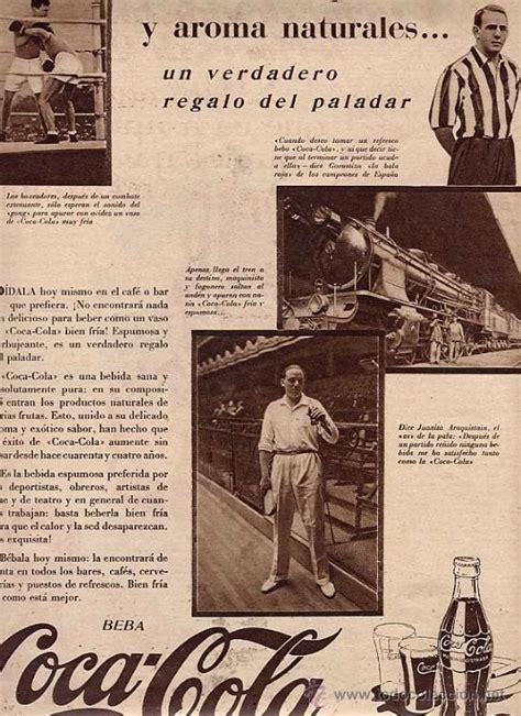 publicidad. primer anuncio de refresco coca c   Comprar ...