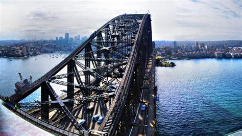 Puente de la bahía de Sídney Fondo de pantalla HD | Fondo ...