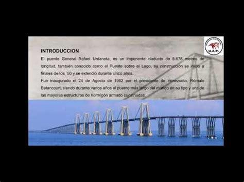 PUENTE GENERAL RAFAEL URDANETA   PUENTES Y OBRAS DE ARTE ...