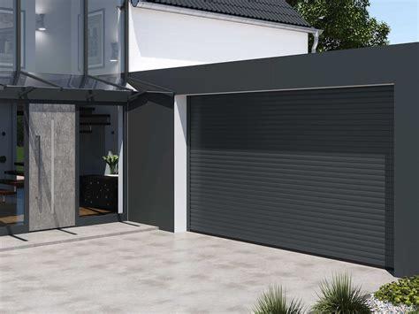 Puerta de garaje enrollable / de aluminio / automática ...