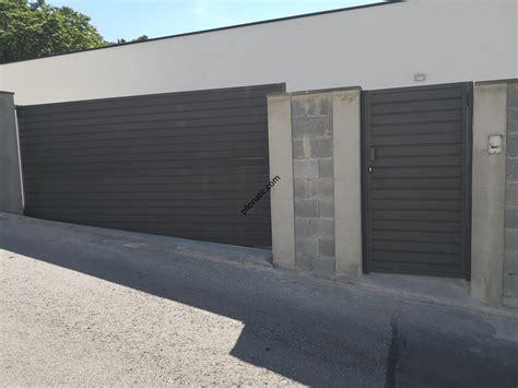 Puerta de garaje / parking batiente modelo lamas chp a ...