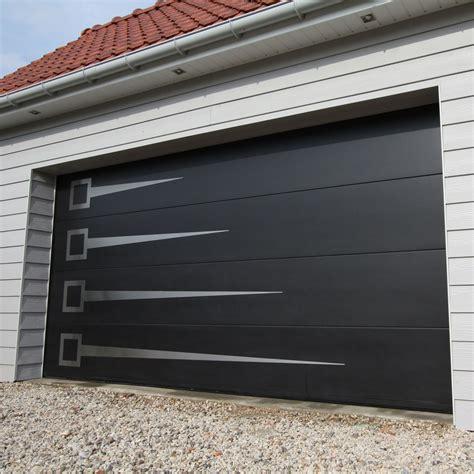 Puerta de garaje seccional   40   SMF Services   de acero ...