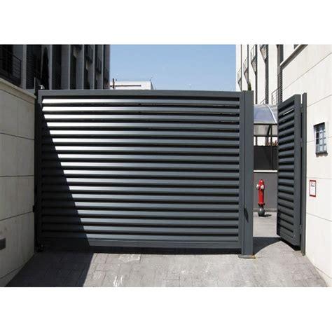 puerta garaje comunidad hierro acero lacada