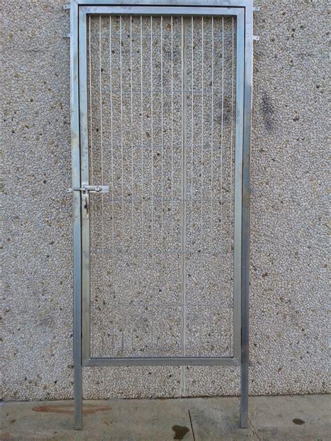 Puerta metalica exterior segunda mano – Materiales de ...