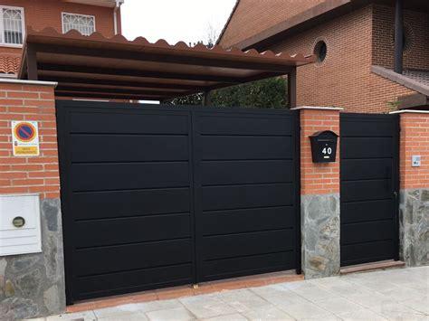 Puertas peatonales y de garaje | Talleres Oñate
