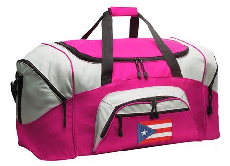 Puerto Rico Duffle Bag or Ladies Puerto Rican Flag Luggage ...