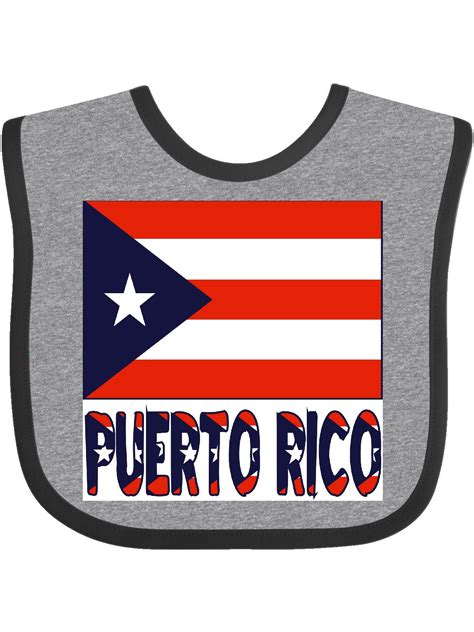 Puerto Rico Flag & Name Baby Bib   Walmart.com   Walmart.com