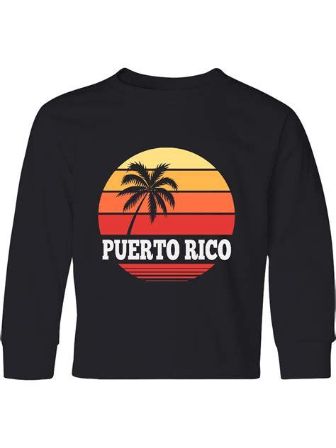 Puerto Rico Vacation Cruise Youth Long Sleeve T Shirt ...
