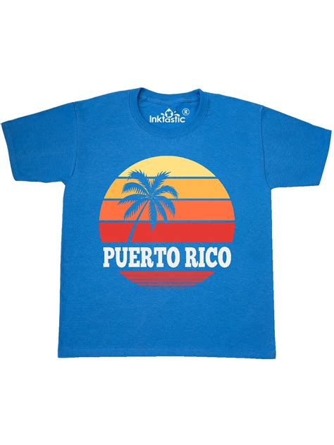 Puerto Rico Vacation Cruise Youth T Shirt   Walmart.com ...