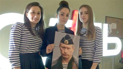Putin Has a Sailor Cheerleader Fan Club in Crimea—and ...
