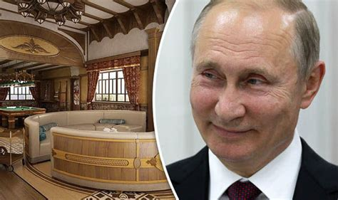 Putin news: Lavish new holiday home with gold plated tiles ...