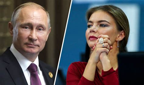 Putin s rumoured lover Alina Kabaeva wears 'wedding ring ...