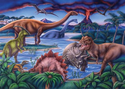 Puzzles and Plush: Dinosaur Puzzles For Kids