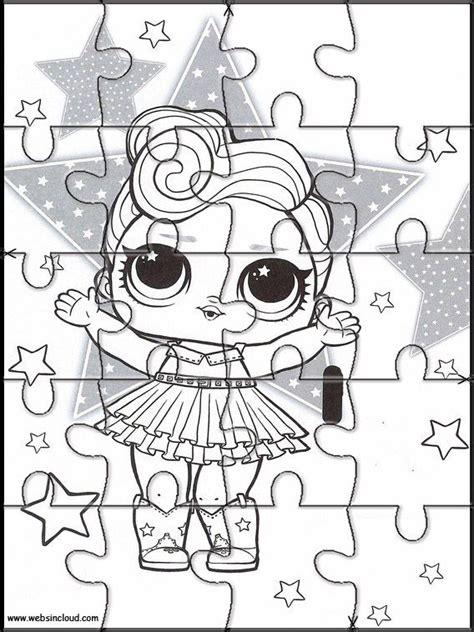 Puzzles recortables para imprimir para niños L.O.L ...