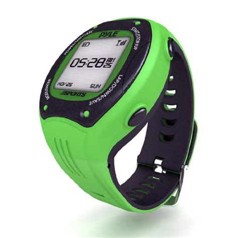 Pyle Extreme GPS Sports Watch Workout Trainer – ANT+ Heart ...
