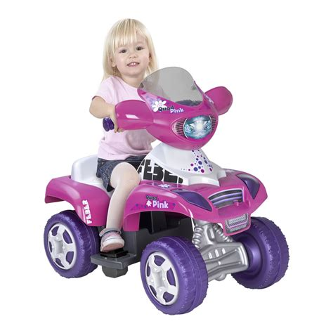 Quad eléctrico infantil 6v Kripton Pink. Feber 10444 ...