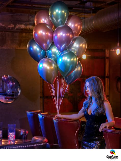 Qualatex Chrome Latex balloons | Party Blowout