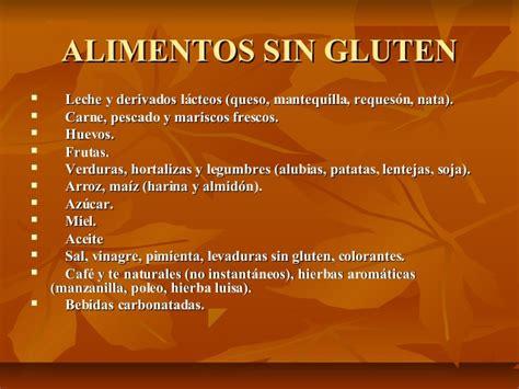 Que alimentos contienen gluten   Mantras en ...