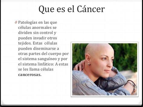 Que es el cancer