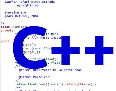 Que Es El Lenguaje De Programación C++   Conocimiento PC ...