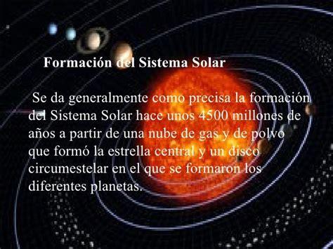 Qué es el sistema solar y cómo está formado   Resumen