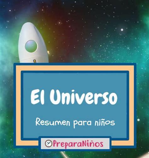 Que es el Universo para ninos   PreparaNiños.com