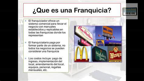 QUE ES FRANQUICIA   FRANQUICIA DEFINICION   MODELO DE ...