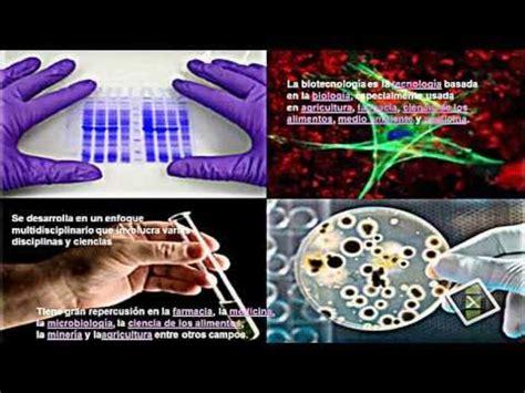 QUE ES LA BIOTECNOLOGIA   YouTube