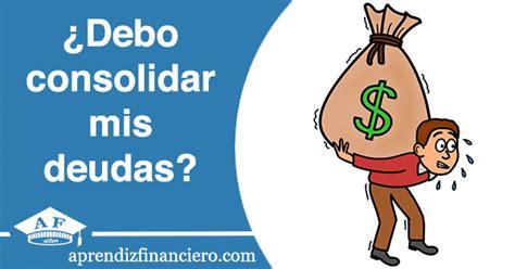 Qué es la consolidación de deudas. Ventajas y desventajas ...