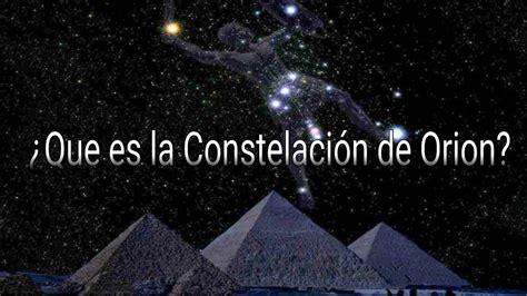 ¿Que es la Constelación de orion?  Mini Documental    YouTube
