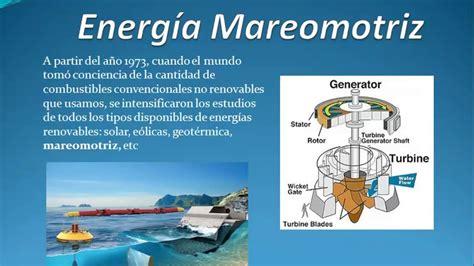 ¿Qué es la energia Mareomotriz? Como funciona   YouTube