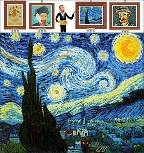 Qué es La Noche Estrellada  Pintura  » Definición y Concepto