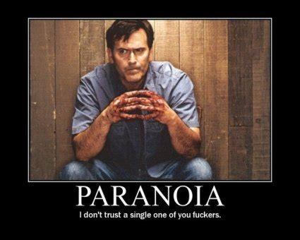 Qué es la Paranoia