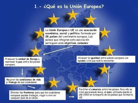 Qué es la Unión Europea   Descúbrelo aquí