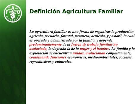 ¿Qué hace la FAO en Agricultura Familiar?