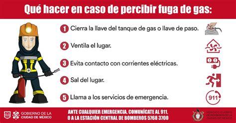 Que hacer en caso de percibir una fuga de Gas L.P.