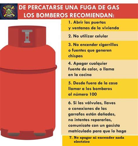 QUE HACER EN CASO DE UNA FUGA DE  GAS    Bomberos Matanza