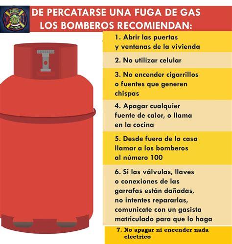 """QUE HACER EN CASO DE UNA FUGA DE """"GAS"""""""