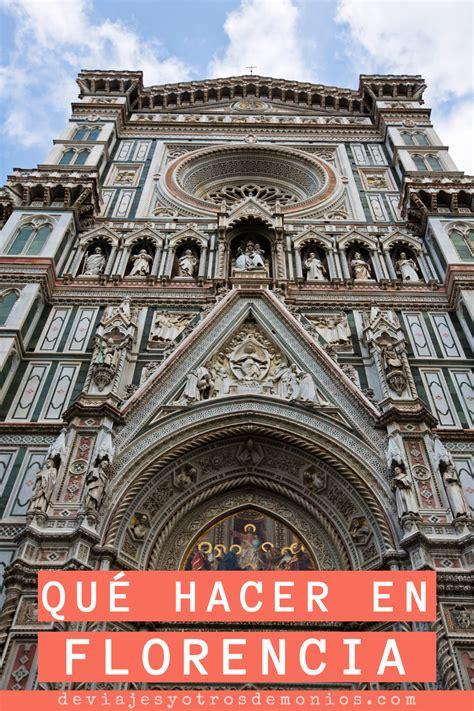 Qué hacer en Florencia   Italia en 2020   Florencia italia ...